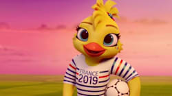 La mascotte du Mondial de Football Féminin de 2019 est la fille de