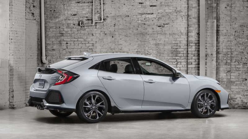 Honda Showed A Mildly Conceptified Version Of The Tenth Gen Civic Hatch In  March, And Just Last Week A Production Model Was Caught Being ...