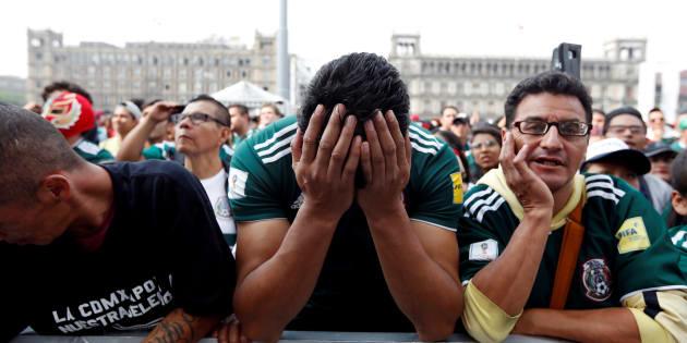 Este lunes, la Selección Mexicana quedó eliminada de Rusia 2018. REUTERS/Gustavo Graf