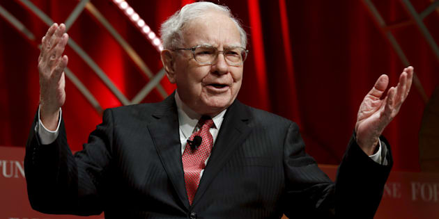 Warren Buffett, chairman and CEO of Berkshire Hathaway, speaks at the Fortune's Most Powerful Women Summit in Washington October 13, 2015.