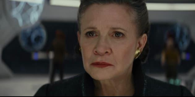 "Carrie Fisher sera bien à l'affiche de ""Star Wars Épisode IX""."