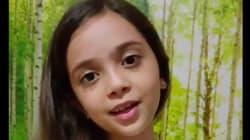 La petite Syrienne Bana Alabed a un message pour