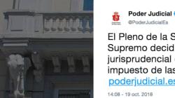 Estupefacción tras el anuncio del Poder Judicial de la paralización de la sentencia sobre el impuesto de las