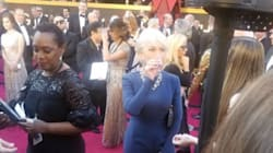 Helen Mirren Took A Tequila Shot On The Oscars Red Carpet Like The Queen She