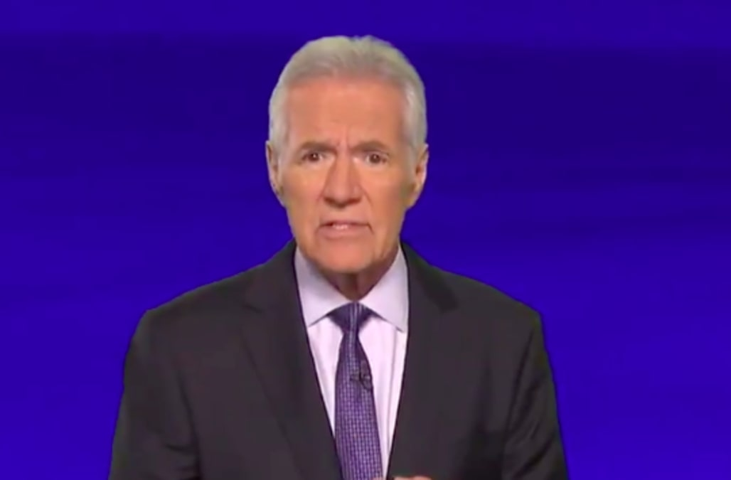 Alex Trebek posted a video thanking fans for their support following his cancer announcement: Watch - AOL