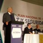 Presentan los 8 ejes del Plan Nacional de Paz y