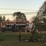 Tornado Flips Cars, Damages Houses In