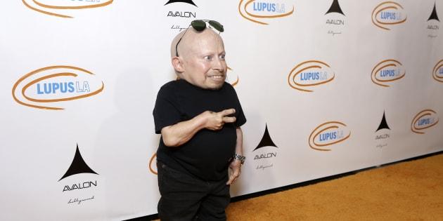 Verne Troyer à Los Angeles le 21 septembre 2016.