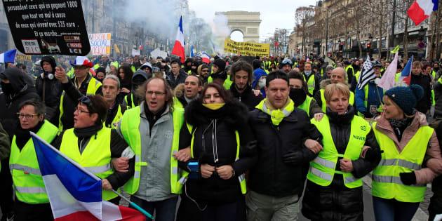 """""""Gilets jaunes"""": Près de 1800 condamnations prononcées par la justice"""