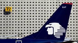 Aeroméxico se responsabilizará para atender a pasajeros del vuelo