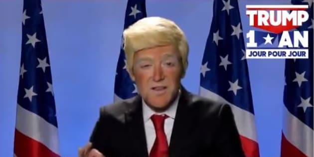 Vous ne verrez plus Martin Weill de la même façon après l'avoir vu déguise en Donald Trump