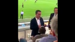 Le président de l'OM filmé à son insu en train de recadrer une spectatrice qui a