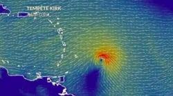 La visite de Macron en Martinique perturbée par la tempête