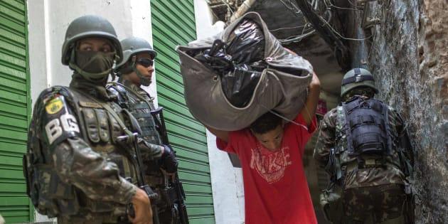 Os militares assumiram papel de destaque na contenção da crise de segurança pública do Rio de Janeiro.