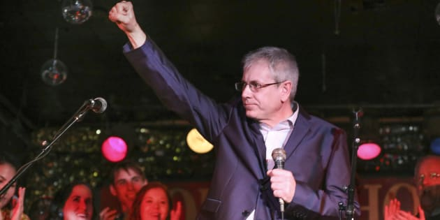 Charlie Angus officially announced his NDP leadership bid at the Horseshoe Tavern in Toronto on Feb. 26, 2017.
