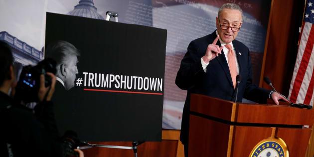 """""""Shutdown"""": les démocrates acceptent un compromis pour mettre fin au blocage."""