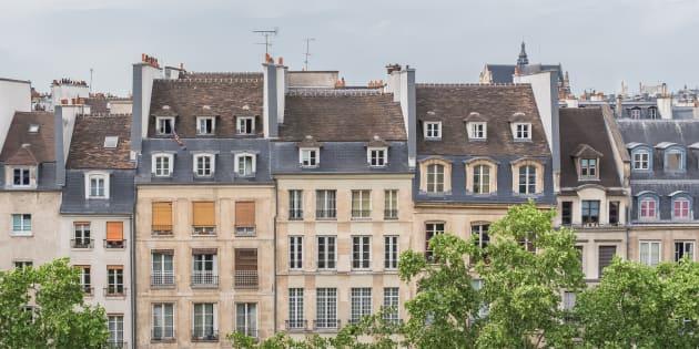 Grâce au métro, les locataires d'un immeuble parisien vont réduire leur facture d'électricité (Façades d'immeubles parisiens, photo d'illustration)