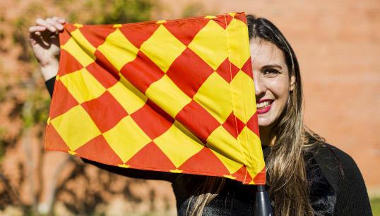Dia 115: Luiza Reis, bandeira e cabeça
