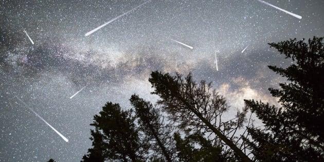 Pic de la pluie d'étoiles filantes des Perséides ce week-end