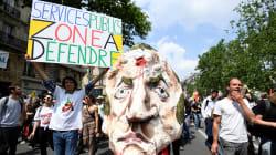 16.400 personnes manifestent à Paris pour défendre le statut des agents et les services