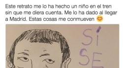 El original regalo de un niño a Pablo Iglesias: