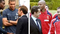 Comme Macron, chaque président tient aux Bleus un discours qui en dit long sur