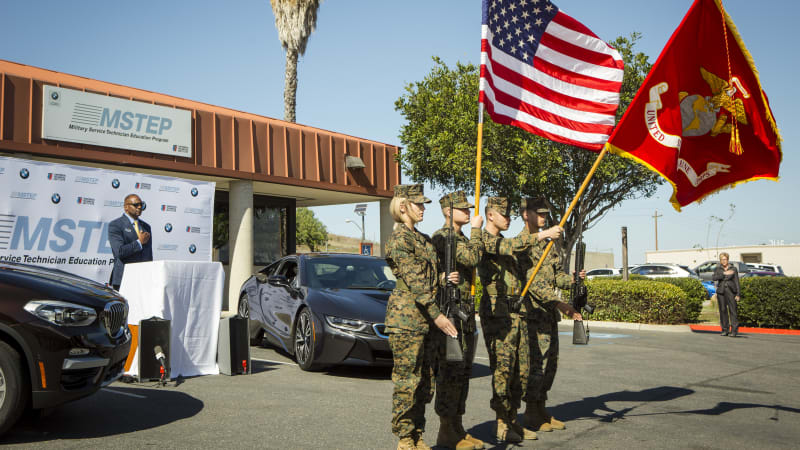 BMW begins technician training for Marines at Camp Pendleton