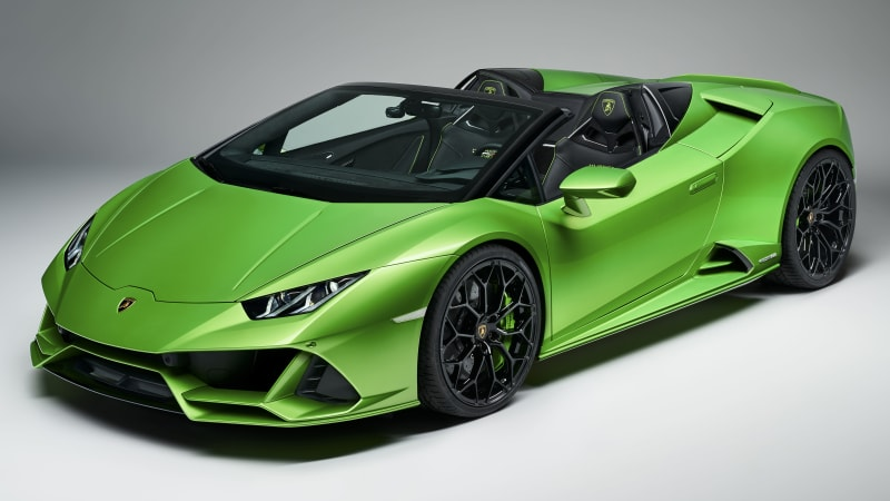 2020 Lamborghini Huracan Evo Spyder Revealed With 202 Mph Top Speed
