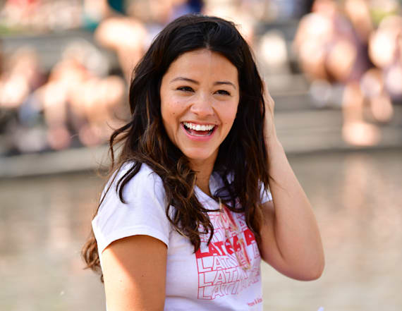 Gina Rodriguez on fighting 'period poverty'