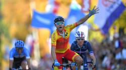 Valverde champion du monde de cyclisme, le Français Bardet échoue à quelques