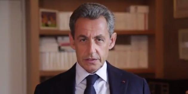 """Nicolas Sarkozy publie une vidéo de soutien à François Fillon, """"pour se rassembler"""""""