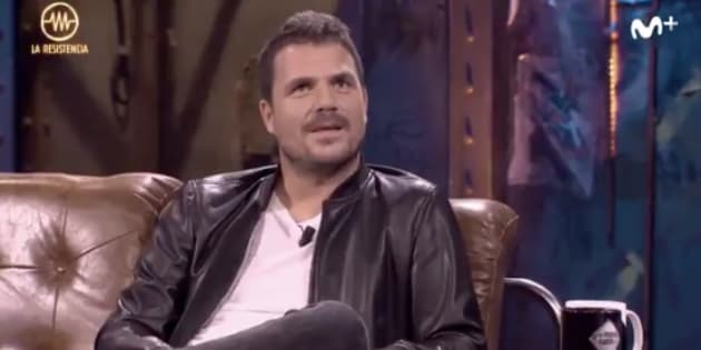 Dani Martín en 'La Resistencia'.