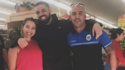 Drake paye les courses des clients d'un supermarché à