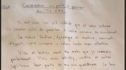 La lettre de motivation hilarante (et efficace) de ce jeune Breton pro du