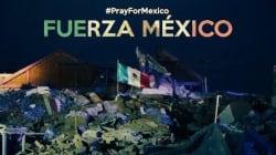 Bandera sobre ruinas de Juchitán, símbolo de unión tras temblor en