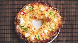 Rosca de Reyes con chocolate, nutella, glaseada... ¡y tú las puedes