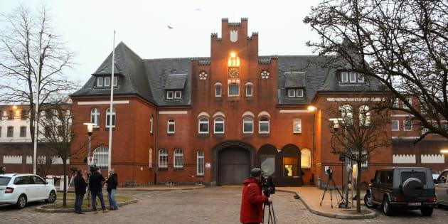 Cárcel de la localidad de Neumïnster, al sur de Kiel, capital de Schleswig-Holstein (Alemania) donde está ingresado Carles Puigdemont.