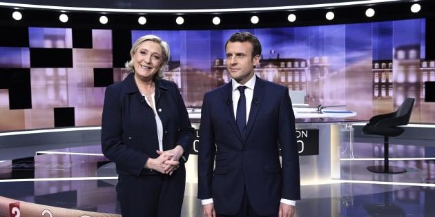 Invectives, mimiques, intox... Comment Marine Le Pen a tout fait pour pourrir le débat d'entre-deux-tours qui n'en était pas un.