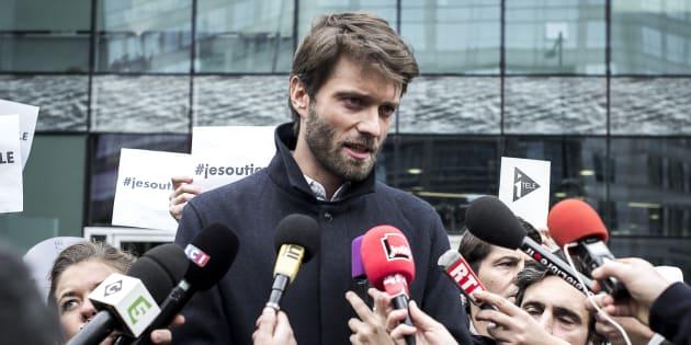 Antoine Genton est l'ex-président de la société des journalistes de la chaîne d'info du groupe Canal+.