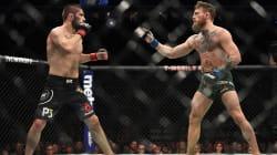 Ce combat de MMA entre McGregor et Nurmagomedov est parti en bagarre