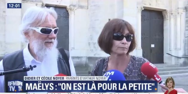 """Obsèques de Maëlys: les parents d'Arthur Noyer présents """"pour la petite"""""""