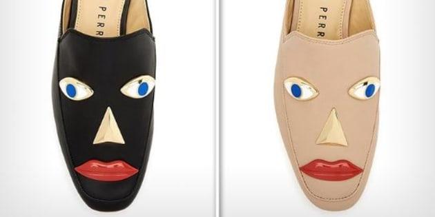 """Ces chaussures rappellent la pratique du """"blackface"""" selon les internautes."""