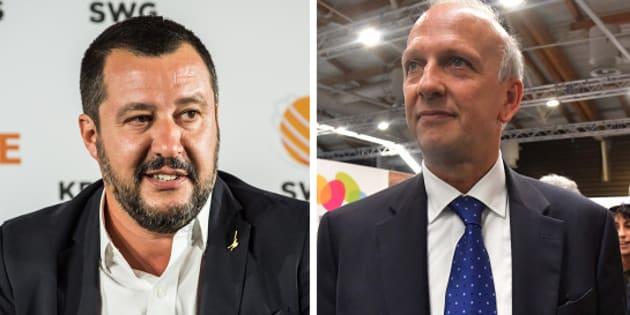 Matteo Salvini Marco Bussetti