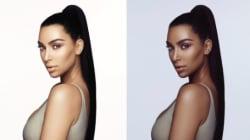 Kim Kardashian s'est-elle foncé la peau pour cette campagne de