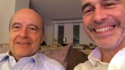Devant le débat, Juppé et son ex-directeur de campagne s'offrent un selfie