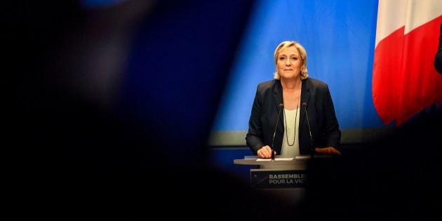 """Le Front national affirme avoir acquis la marque """"Rassemblement national"""" déposée en 2013."""