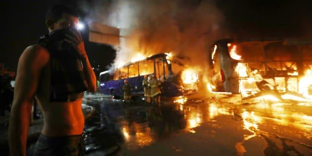 Confronto na Greve Geral no Rio de Janeiro.