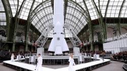 Karl Lagerfeld a fait décoller une fusée au Grand