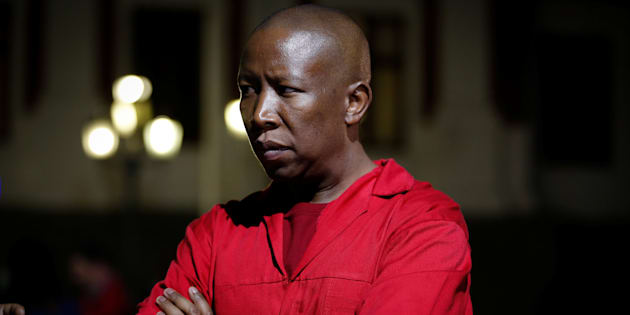 'No white man will decide my destiny': Malema is ready for AfriForum