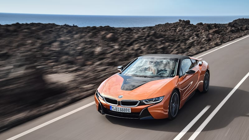 2019 BMW i8 Roadster Drivers